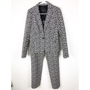 Banana Republic Leopard Print Blazer/Pants Size 6
